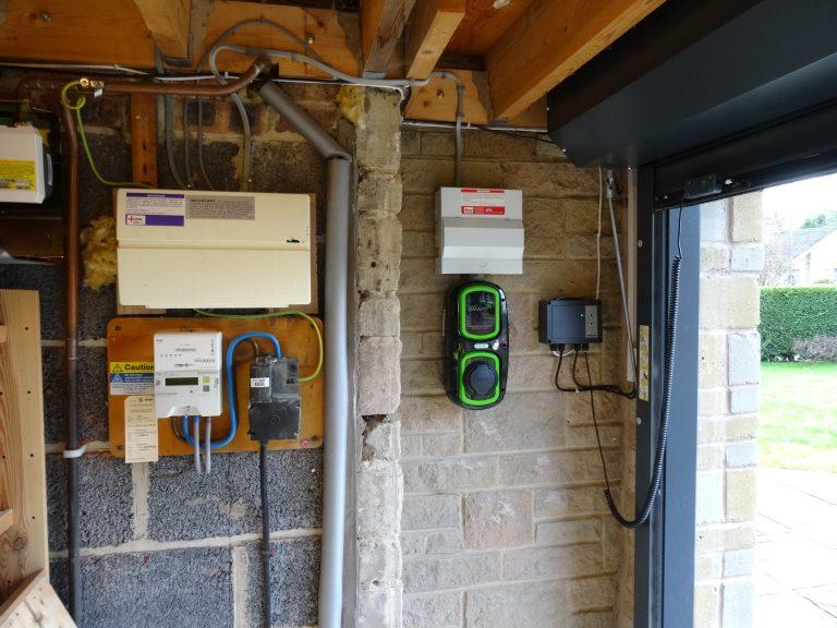 RolecEV Installation in Garage